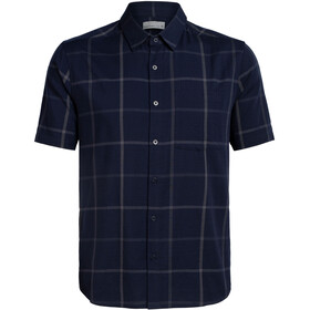 Icebreaker Compass T-shirt Heren, midnight navy/monsoon
